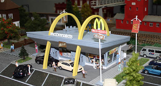 Mc Donalds Drive In von Vollmer