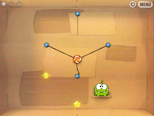 Nokia E6 Cut the rope