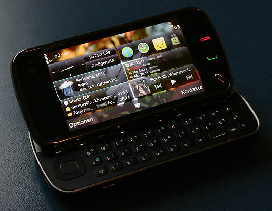Nokia N97 - Homescreen