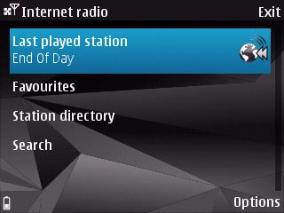Sendersuche - Nokia InternetRadio Beta